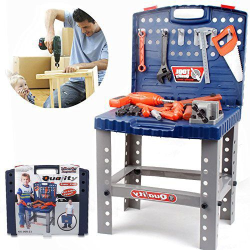 12 Best Toddler Workbench Reviews In 2020 Questions Answer Kids Pretend Play Kids Workbench Toddler Workbench