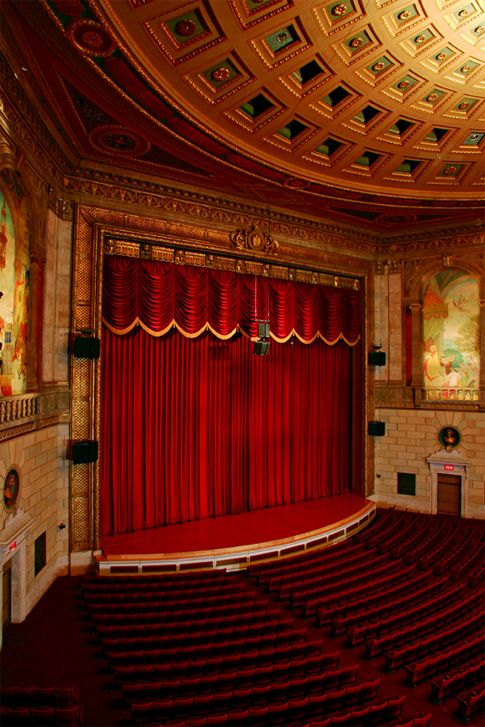 The Eastman Theatre in Rochester, NY | New York ~ UPstate ...