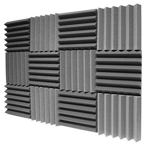 Amazon Com 12 Pk 2 X12 X12 Soundproofing Foam Acoustic Tiles Studio Foam Sound Wedges Musical Instruments Sound Proofing Studio Foam Acoustic Panels Diy