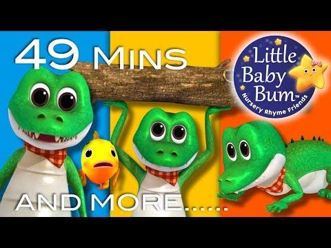 Crocodile Song Plus More Animal Songs 49 Minutes Compilation