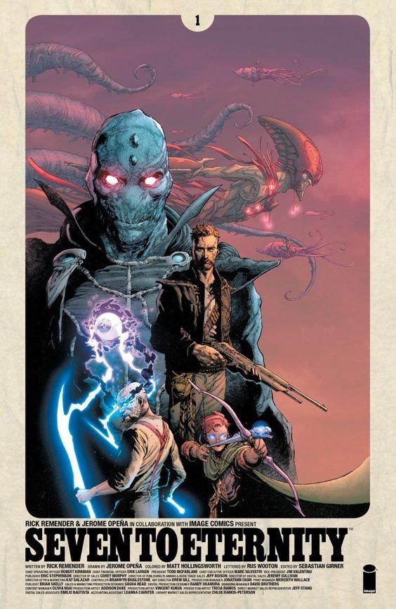 Seven To Eternity #1 Revie | ComicBuzz