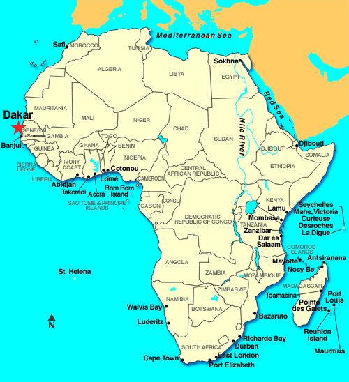 Dakar is the largest city and capital of Senegal It is located on