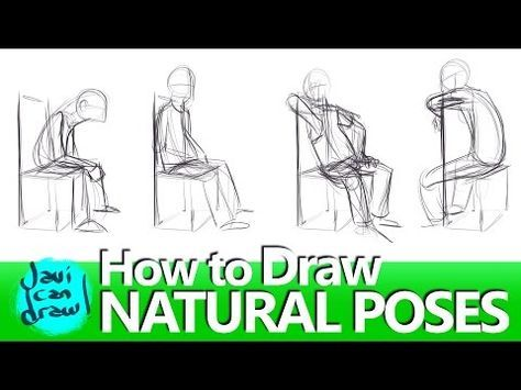 How To Draw Side View Sitting Youtube Sitting Poses Sitting Pose Reference Poses