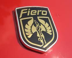 Fiero nameplate design