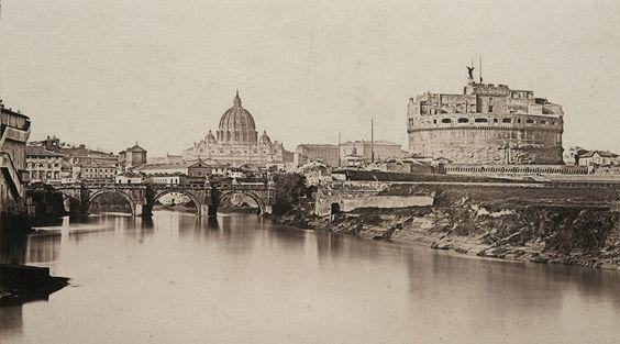 Con la luce di Roma. Fotografie dal 1840 al 1870.