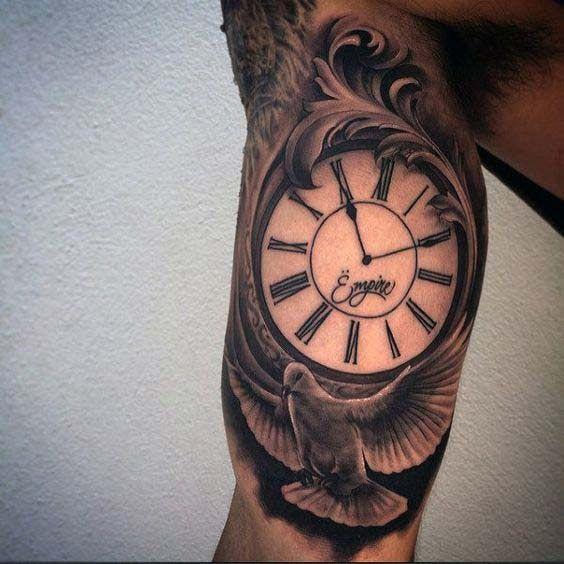 Oberarm tattoos für innen männer Unterarm Tattoo