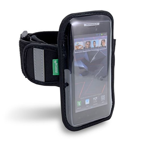 [Arkon XXL-ARMBAND] Smartphone Sports & Workout Armband for Phones With Screens up to 4.8 in. - Galaxy Nexus, Galaxy S II, Droid RAZR, RAZR MAXX, HTC Vivid, Sensation XL