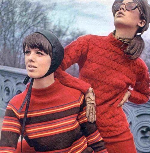 Vintage Seventeen Magazine: Fashion Sirens, Beauty Photography, Fashion Sixties Early, Fashion Beauty, Seventeen Magazine, Photography Archive, Fashion Photography, Knit Tops, 60S Fashion