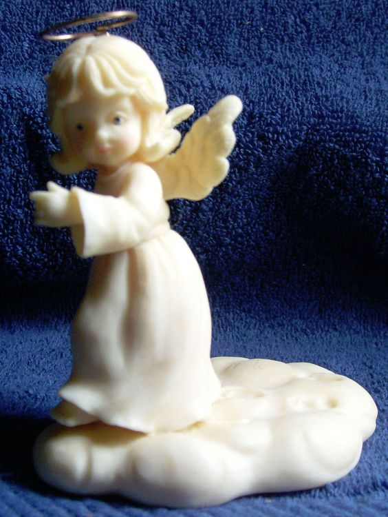 Angel Figurine Tom Rubel Heavenly Angels Footprints In The ...