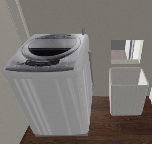 ずぼら洗濯動線 浴室 収納棚 洗濯 浴室 収納