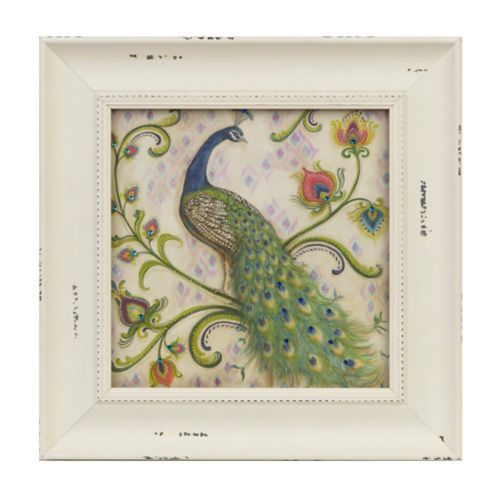 Jeweled Peacock I Framed Art Print | Kirklands: