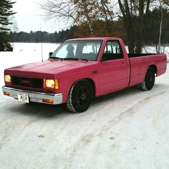 1989 Gmc S15 Long Bed Lowered 5 7 Mini Trucks Chevy S10 Little Truck