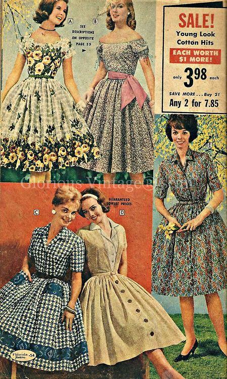 винтидж рокли |  Tumblr: