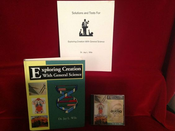 Apologia Exploring Creation WIth General Science Student, Solutions/Tests MP3 CD #TextbookBundleKit