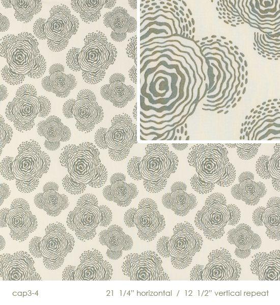 Fabric wallpaper!!