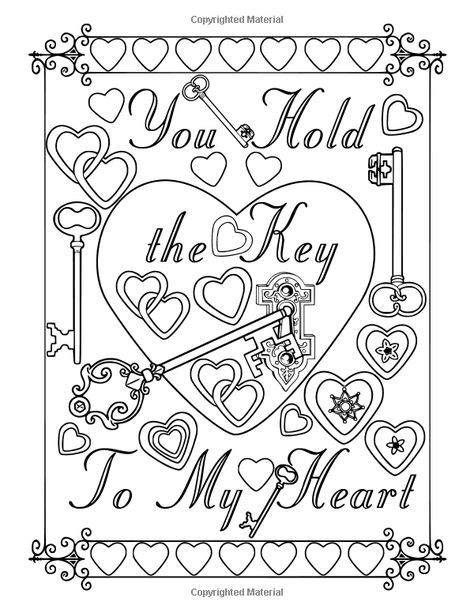 Mail Glenys Key Outlook Love Coloring Pages Valentine Coloring Pages Adult Coloring Pages