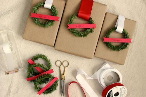DIY Project: Mini Wreath Gift Tags   Design*Sponge