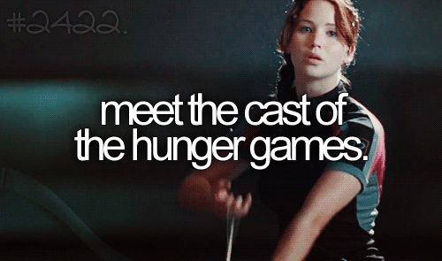 meet the cast of hunger games.