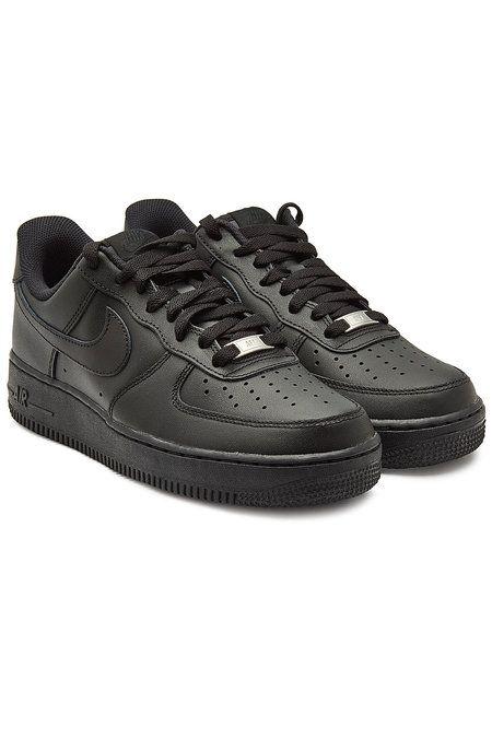 para jugar sarcoma fantasma  Nike - Air Force 1 '07 Leather Sneakers - black | Nike shoes air force, Nike  air shoes, Black nike shoes