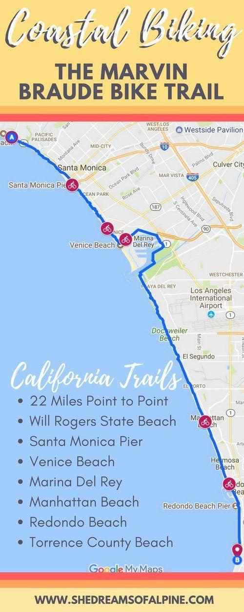 The Marvin Braude Bike Trail A California Coastal Bike Ride Through La County She Dreams Of Alpine Bike Trails Travel California Travel