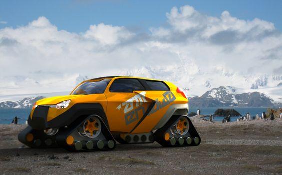 Amendida rescue SUV by Mario Ginev at Coroflot.com