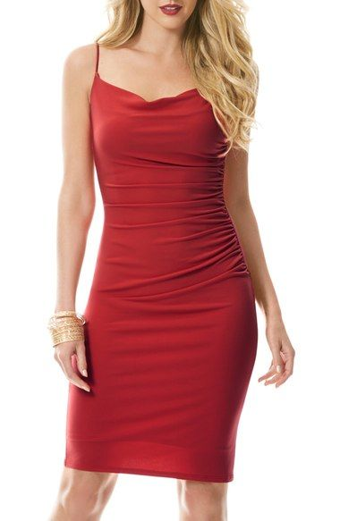 Laundry by Shelli Segal Ruched Jersey Body-Con Dress available at #Nordstrom