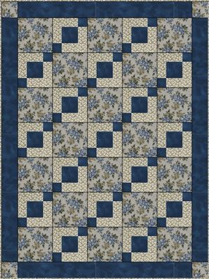 Quilt Patterns 4 Different Fabrics : Stepping stones, Quilt patterns and Quilt on Pinterest