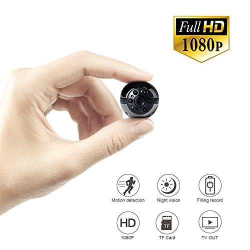 Mini Hidden Spy Camera 1080p 720p Full Hd Uyikoo 6 Led