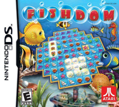 Fishdom Nintendo Ds Video Games Fishdom Nintendo Ds Nintendo