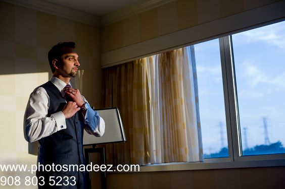 Muslim Groom getting ready in Pakistani Wedding. with fellow vendors Nobility events. NJ Wedding – Renaissance, Woodbridge. Nikah, Shaadi, Valima Best Wedding Photographer PhotosMadeEz, Award Winning Photographer Mou Mukherjee