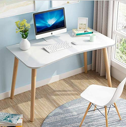 Modern Simple Study Desk Writing Desk Computer Table Office Table Computer Desk Simplistic A Frame Wood Furn Simple Study Desk Office Table Design Office Table