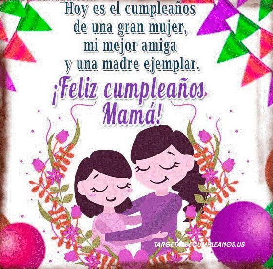Tarjetas De Cumpleaños Para Mama 1 Cumpleaños Para Mama Mejores Tarjetas De Cumpleaños Feliz Cumpleaños Mamá