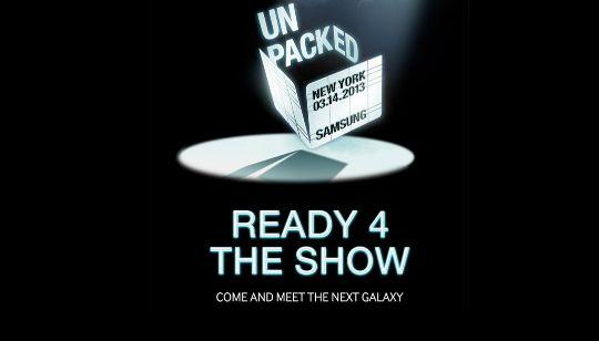 Samsung no estará presentando el Galaxy S4 en MWC como ya sabemos y ahora la empresa anuncia y confirma que el 14 de Marzo estará presentando este nuevo celular en New York. http://gabatek.com/2013/02/25/tecnologia/samsung-confirma-galaxy-s4-marzo-14-new-york/