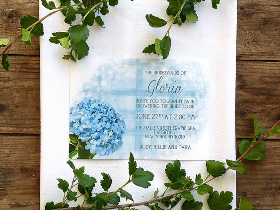 Floral Bridal Shower Invitation • Printable Bridal Shower Invites • Watercolor Bridal Shower Invitations • Bridal Party • Bachelorette Party #OBercailDesign