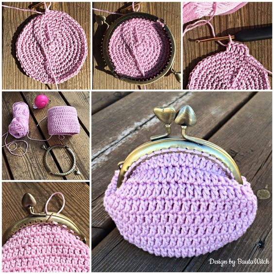 DIY - Romantic purse by BautaWitch Free pattern in Swedish (use Google Translate and you will do just fine!) in my blog! Welcome! <3