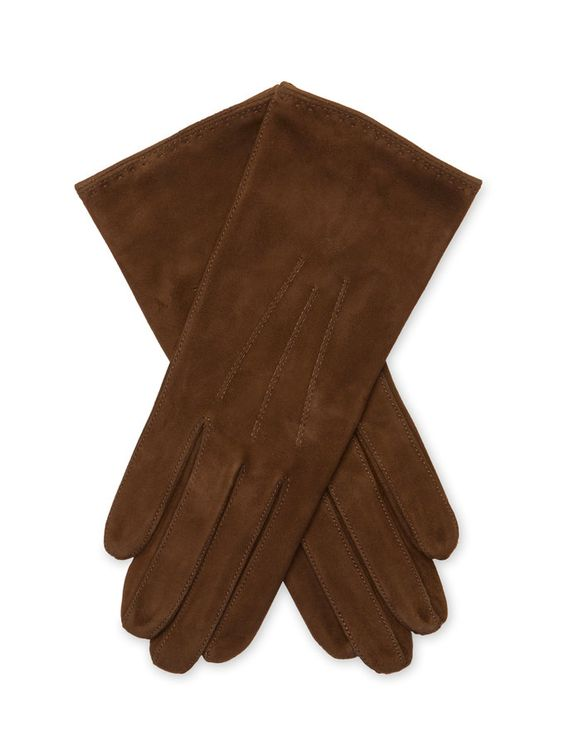 Lambskin Leather Silk Lined Glove  from Gifts for Her: Under $150 on Gilt