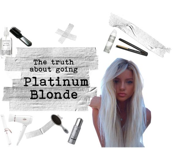 The truth about going platinum blonde