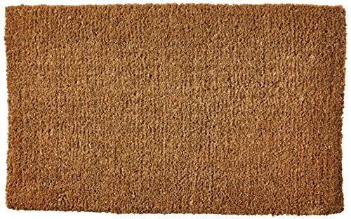 Kempf Plain Coco Doormats Keep Your Floors Clean Make Your House Stylish And Chic With Natural Plain Doormat Flooring Coir Doormat Types Of Flooring