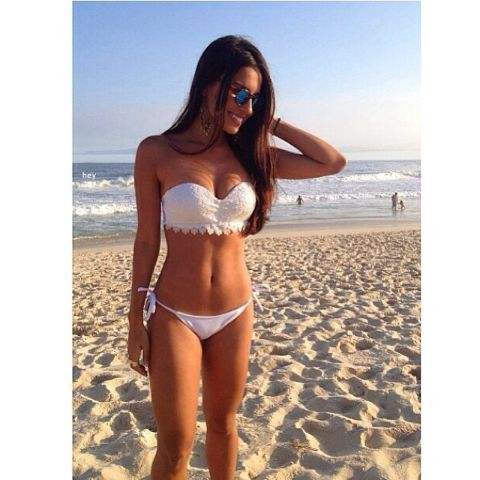 White brazilian bikini - Gorgeous body
