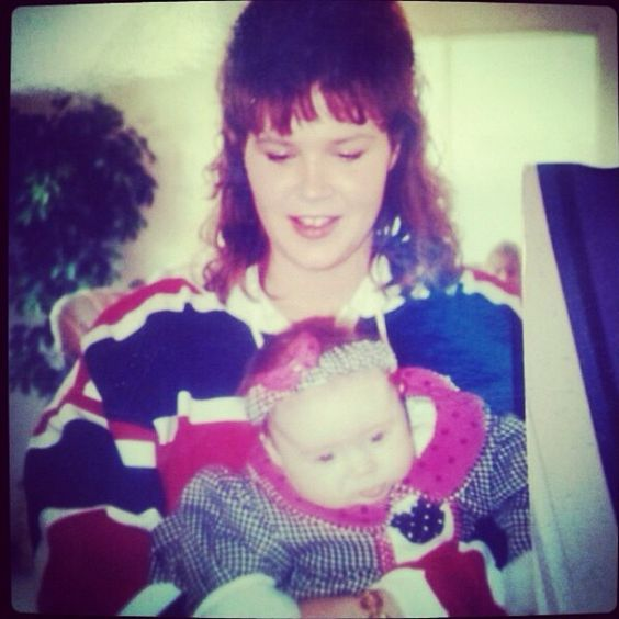 "@Cierra Nicole's photo: ""Most recent selfie I have with my mom. #Selfiewithmom #Needanewselfie #Imjustababyhere"""