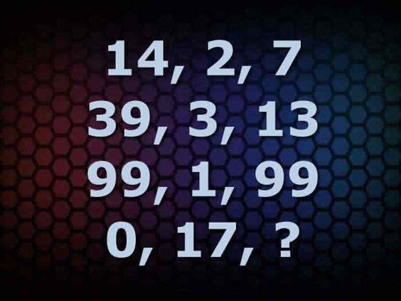 Secuencia numérica. Un juego para entrenar el razonamiento, la lógica y la habilidad de cálculo #gimnasiamental