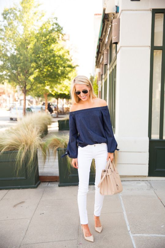 Off the shoulder top: