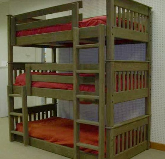 Triple Bed Tags Wooden Triple Bunk Beds For Adults