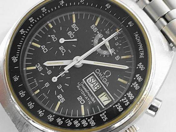 時計 OMEGAスピードマスターマーク1クロノグラフアンティーク Watch omega ¥50000円 〆03月23日