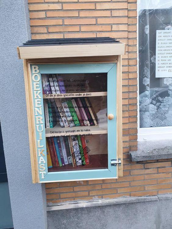 Boekenruilkast Oostende 35