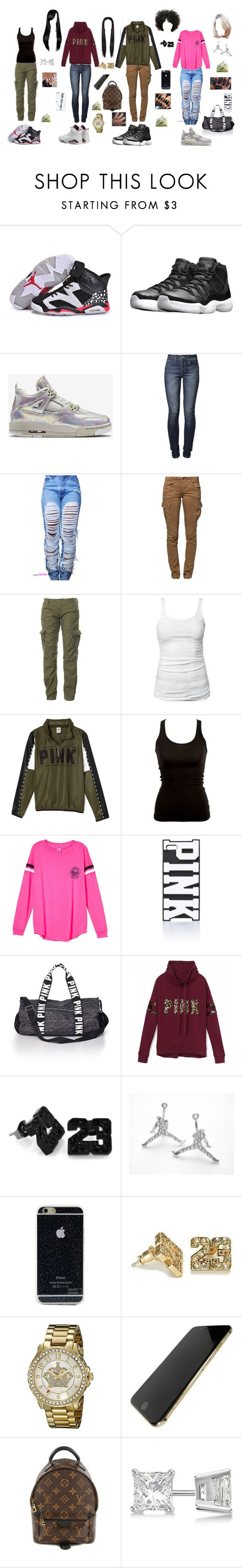 """California "" by that-trendy-jetsetter ❤ liked on Polyvore featuring NIKE, Retrò, Levi's, G-Star Raw, Superdry, James Perse, Victoria's Secret PINK, CO, Juicy Couture and Louis Vuitton"