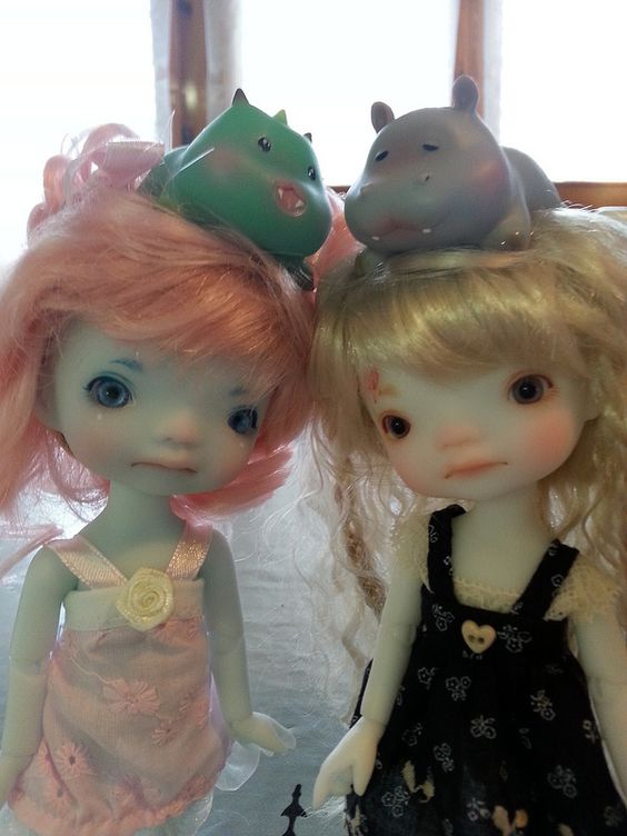 Bluma & Drag e Crystal & Ippo