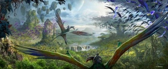 AVATAR-Inspired Land to Open in 2017 at Disney's Animal Kingdom!