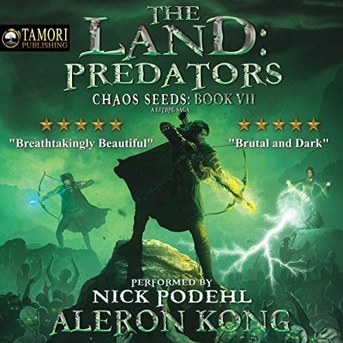 Another Must Listen From My Audibleapp The Land Predators A Litrpg Saga By Aleron Kong Narrated By Nick Podehl Audio Books Books To Read Online Books