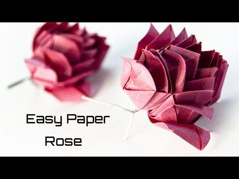 Diy Craft flower paper - YouTube in 2020 | Paper flowers, Paper ... | 360x480